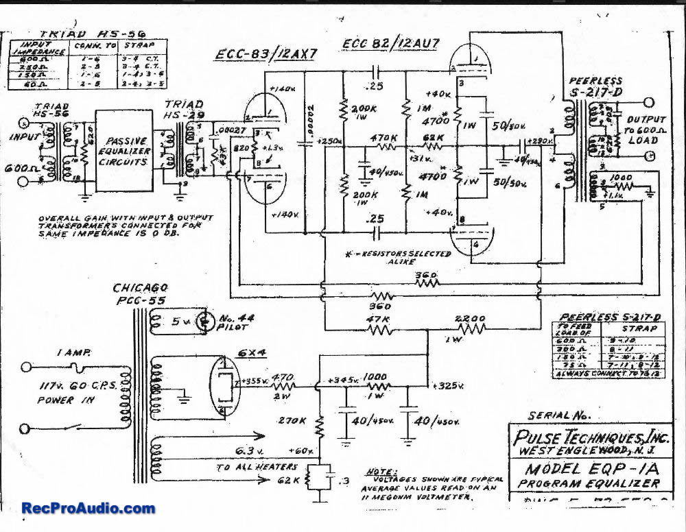 eqp 1a_schem advanced audio documents Basic Electrical Wiring Diagrams at crackthecode.co